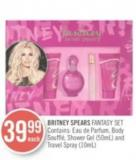 Britney Spears Fantasy Set Contains: Shower Gel (50 Ml) and Travel Spray (10 Ml)