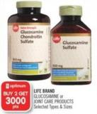 Life Brand Glucosamine or Joint Care Products
