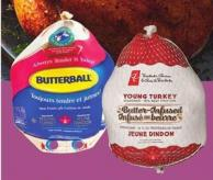 PC Butter-infused Or Butterball Frozen Turkeys - Over 9 Kg