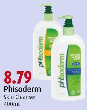 Phisoderm Skin Cleanser 400ml