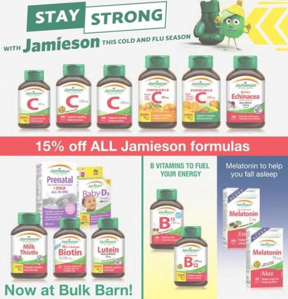 All Jamieson Formulas