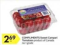 Compliments Sweet Campari Tomatoes