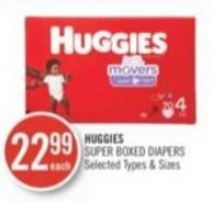 Huggies Super Boxed Diapers