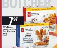 PC Chicken Nuggets Or Strips - 1.5 Kg