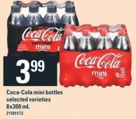 Coca-cola Mini Bottles - 8x300 mL