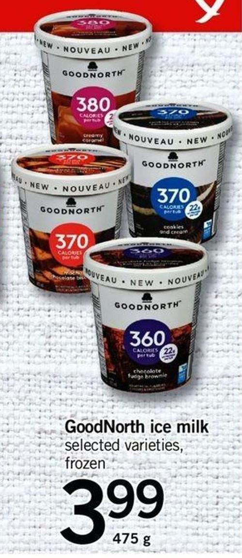 Goodnorth Ice Milk - 475 G