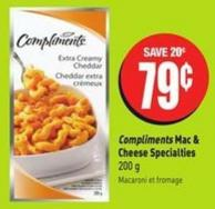 Compliments Mac & Cheese Specialties 200 g
