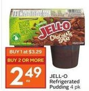 Jell-O Refrigerated Pudding