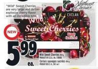 Wild Sweet Cherries 454 g