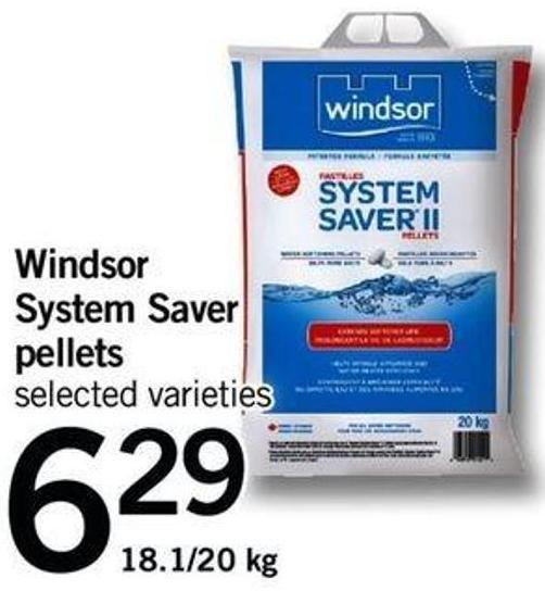 Windsor System Saver Pellets