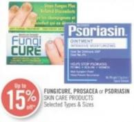 Fungicure - Prosacea or Psoriasin Skin Care Products