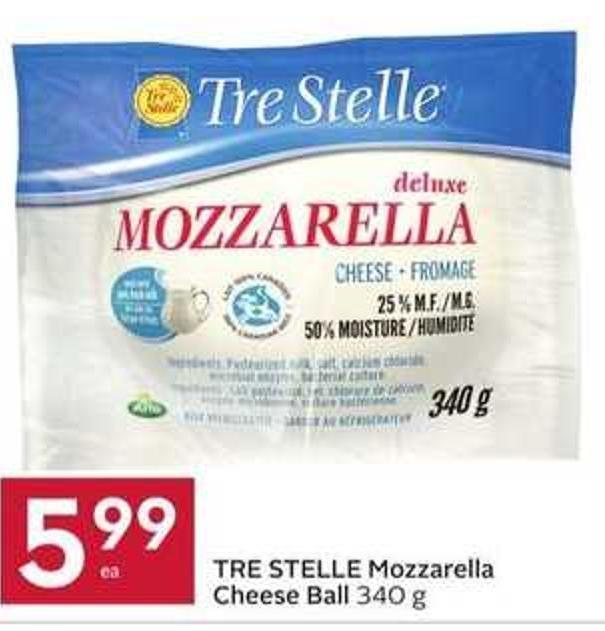 Tre Stelle Mozzarella Cheese Ball