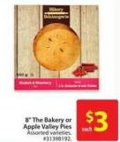 8in The Bakery or Apply Valley Pies