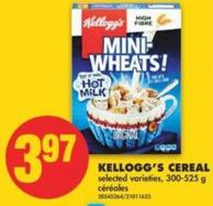 Kellogg's Cereal - 300-525 g