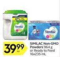Similac Non-gmo Powders
