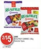 Dare Realfruit Gummies 180g