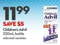 Children's Advil 230ml Bottle