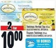 Twinings Herbal Tea 20 Un.