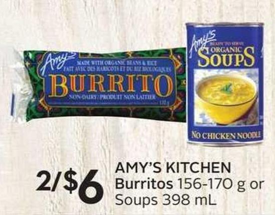 Amy's Kitchen Burritos