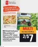 Mill Creek Fresh Peas - 400 G Or PC Slaws - 340 G