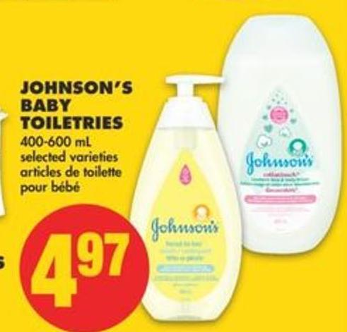 Johnson's Baby Toiletries - 400-600 Ml