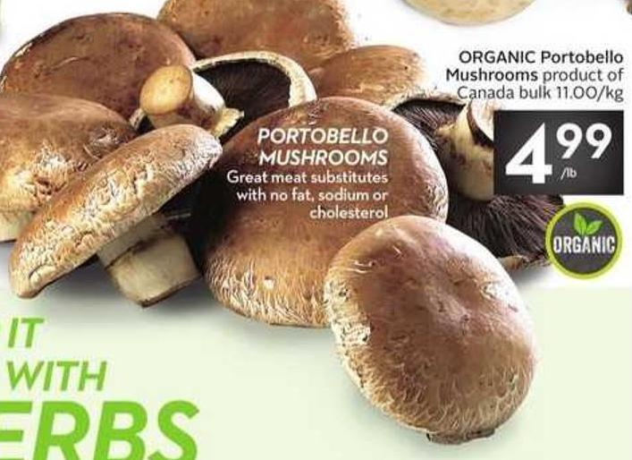 Organic Portobello Mushrooms