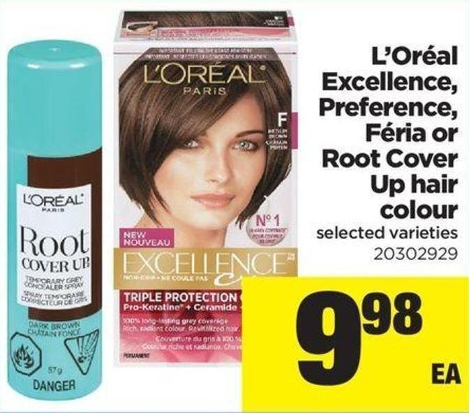 L'oréal Excellence - Preference - Féria - Or Root Cover Up Hair Colour