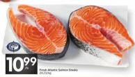 Fresh Atlantic Salmon Steaks