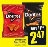 Doritos Nacho Chips 230-255 g