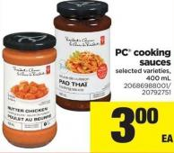 PC Cooking Sauces - 400 mL