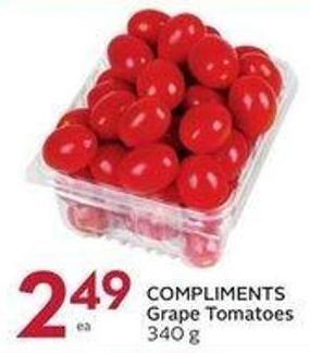 Compliments Grape Tomatoes 340 g