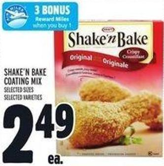 Kraft Shake'n Bake Coating Mix