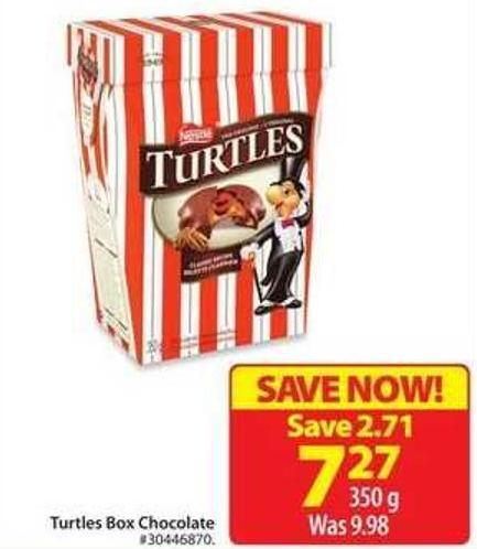 Turtles Box Chocolate