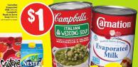 Carnation Evaporated Milk 354 mL Campbell's Ready To Serve Soup 540 mL