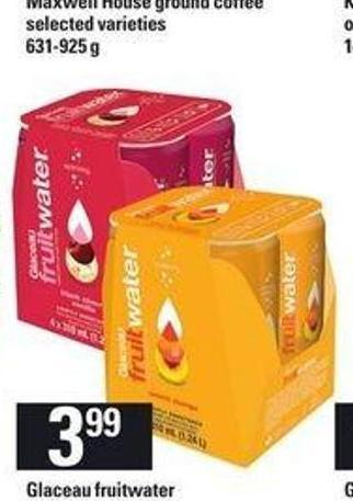 Glaceau Fruitwater - 4x310 mL