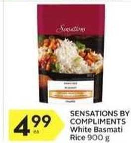 Sensations By Compliments White Basmati Rice