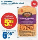 PC Splendido Roasted Vegetable Tortelloni - 600 g