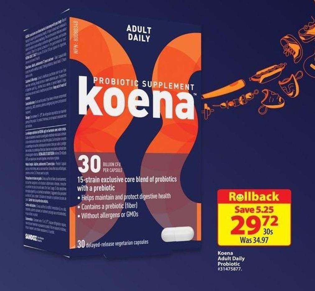 Koena Adult Daily Probiotic