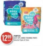 Pampers Easy Ups Jumbo Training Pants