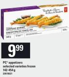 PC Appetizers - 142-454 g