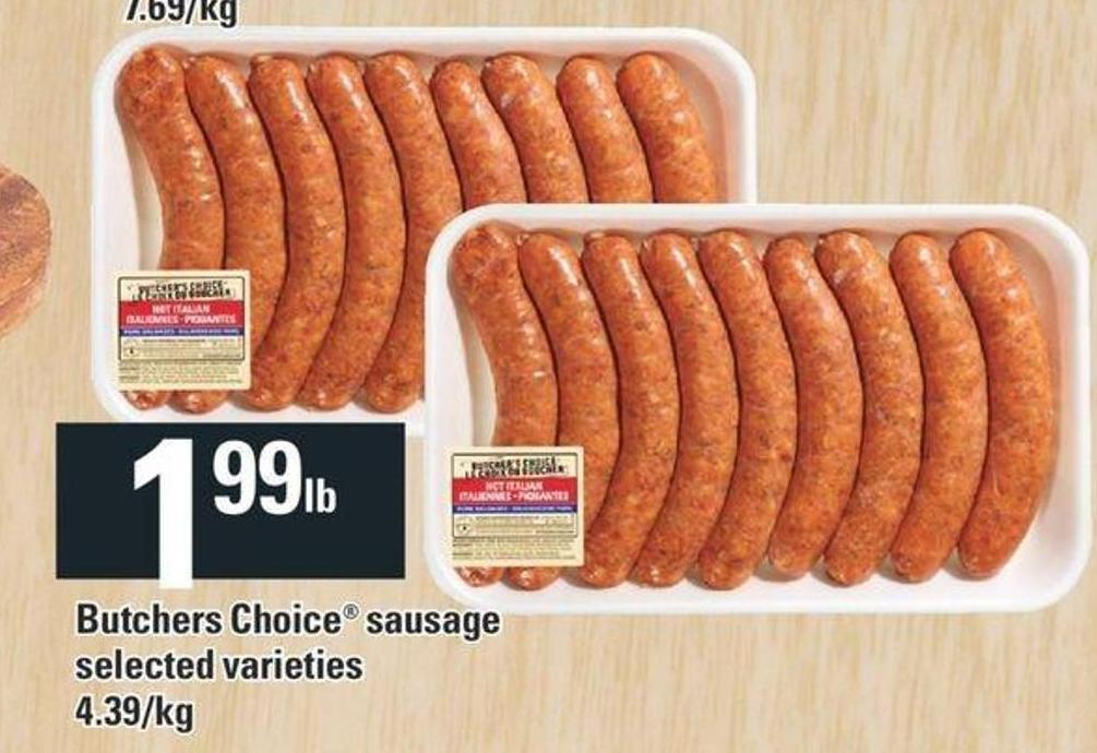 Butchers Choice Sausage