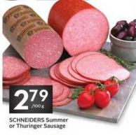 Schneiders Summer or Thuringer Sausage