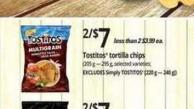 Tostitos Tortilla Chips.205 g — 295 g