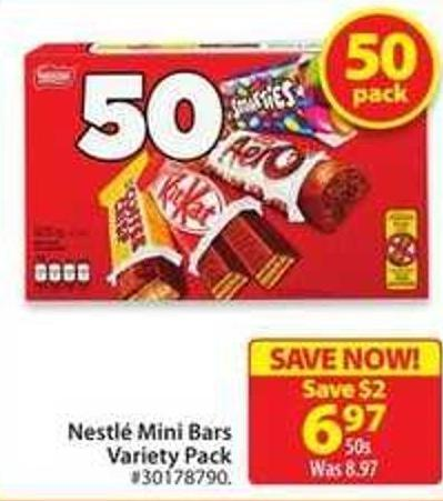 Nestle Mini Bars Variety Pack