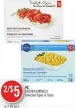 PC Frozen Entrees