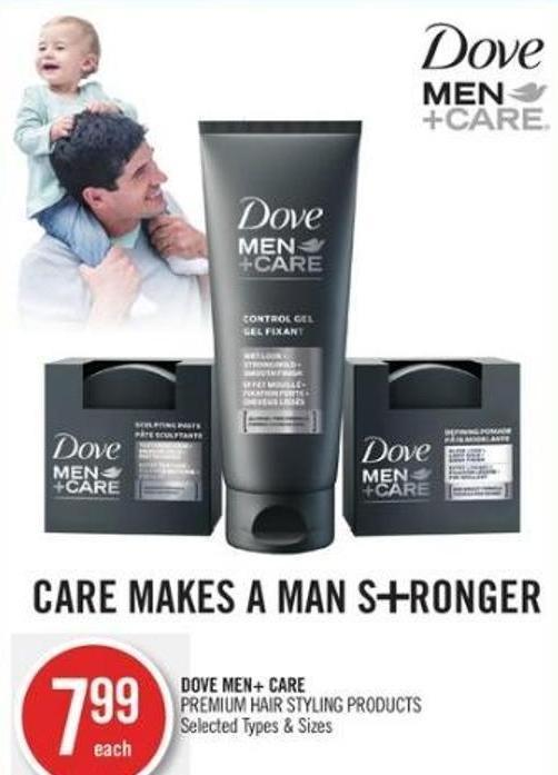 Dove Men+ Care Premium Hair Styling Products