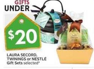 Laura Secord - Twinings or Nestlé Gift Sets