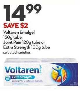 Voltaren Emulgel 150g Tube - Joint Pain