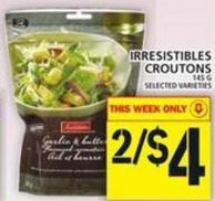 Irresistibles Croutons