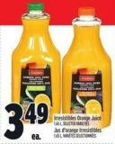 Irresistibles Orange Juice 1.65 L